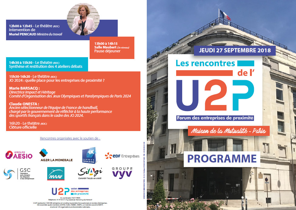 rencontre U2P paris 2018
